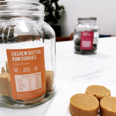Snack Proud Cashew Caramel Cookies - 25Pack