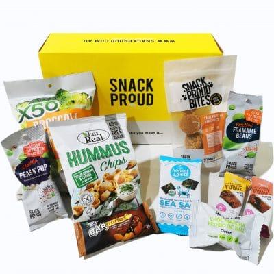 Snack Proud Vegan Box