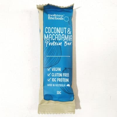 Coconut Macadamia Portein Bar