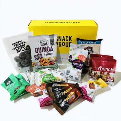 Kids lunch box snack pack