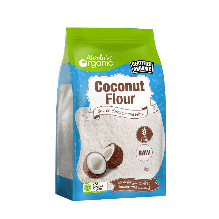 Absolute Organic Coconut Flour 1kg Snack Proud