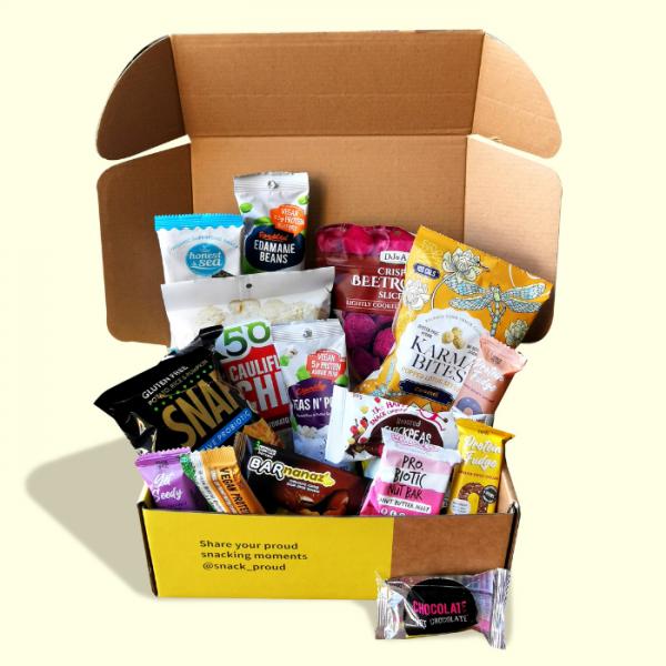 Snack Proud Vegan Snack Box for February