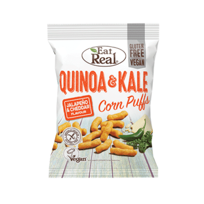 Eat Real Quinoa & Kale Corn Puffs
