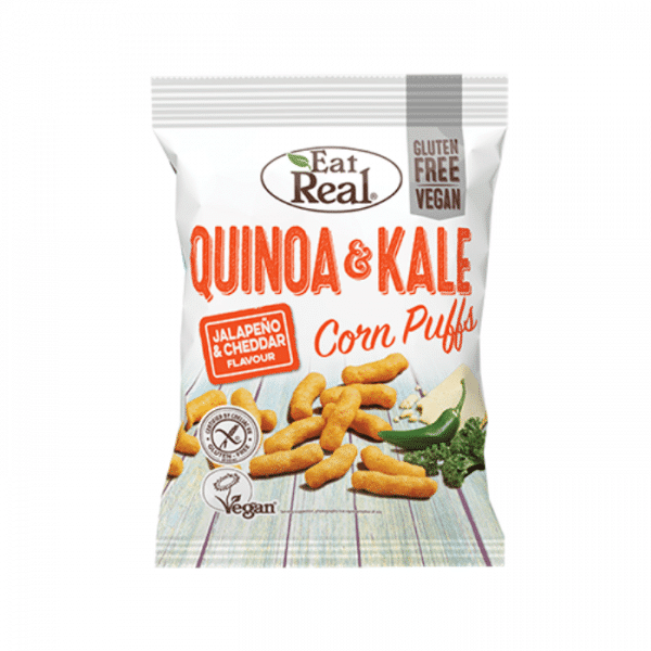 Eat Real Quinoa & Kale Corn Puffs