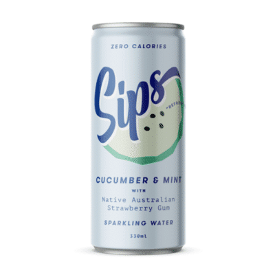 Sips Sparkling Water - Cucumber & Mint