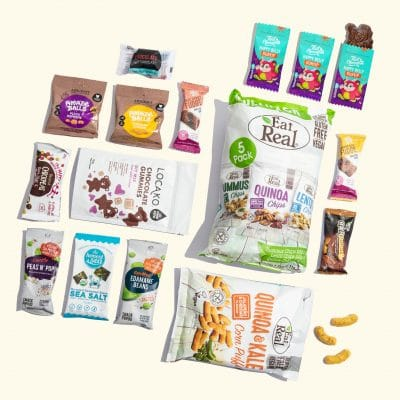 Snack Boxes - Family Lunch Essentials