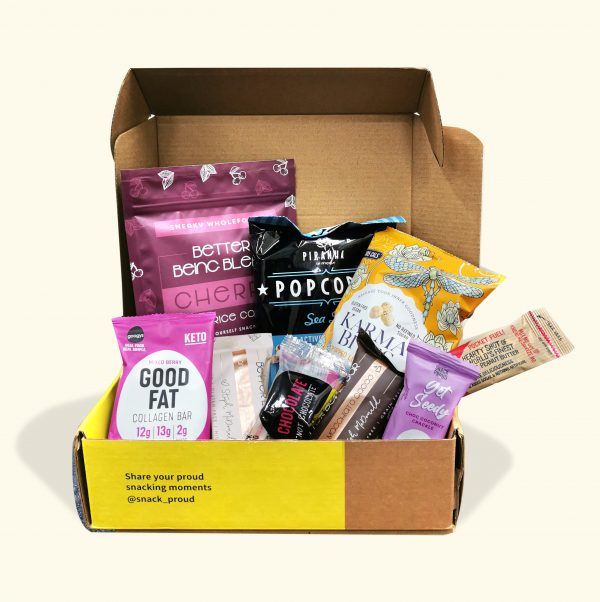 Snack Proud Better Being Box for December