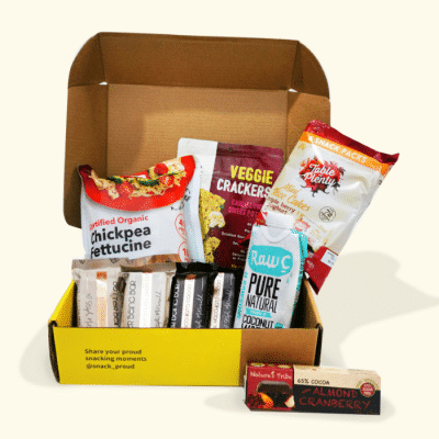 Snack Proud Better Being Steph Box for October