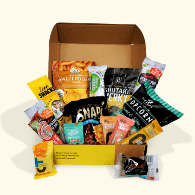 Snack Proud Vegan Snack Box