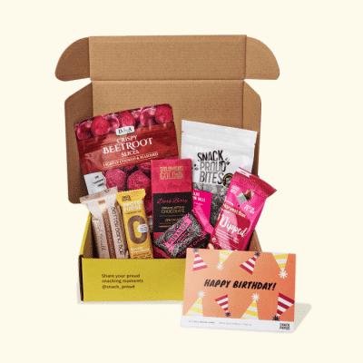 Snack proud birthday box