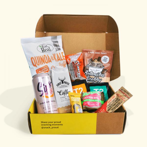 Snack Proud breakfast meeting box