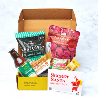 Snack Proud Secret Santa Box