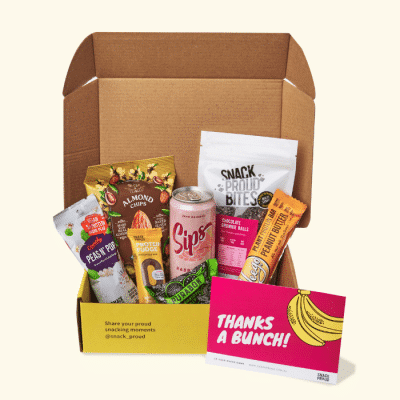 Snack Proud Thank you box