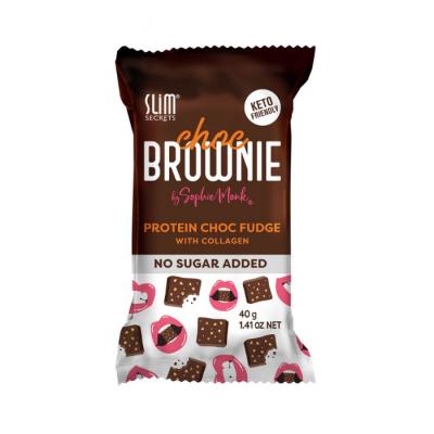 The new Slim Secret Choc Brownie Collagen Protein Bar