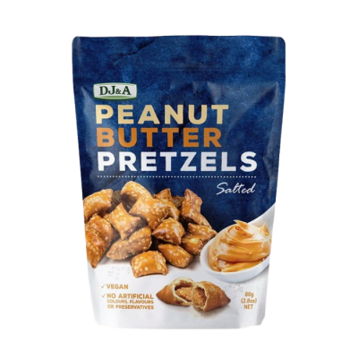 DJ&A Peanut Butter Pretezels