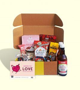 Snack Proud Valentine Dessert Box