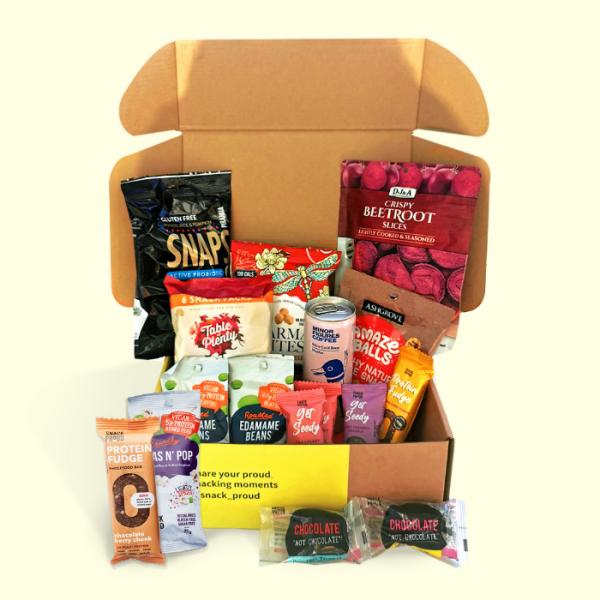 Snack Proud Nut Free Snack Box